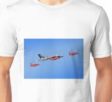 Final Vulcan flight with the Red Arrows - 11 Unisex T-Shirt