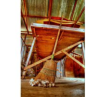 Shed Cleanup Photographic Print