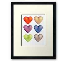 Experiments in Colour #2  Framed Print