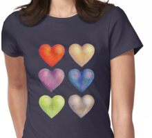 Experiments in Colour #2  Womens Fitted T-Shirt