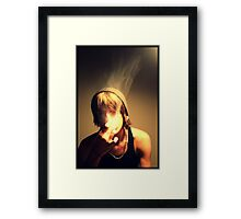Thank You For Smoking Framed Print