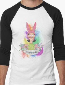 Louise Belcher Men's Baseball ¾ T-Shirt