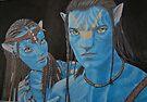 The blue people by Gary Fernandez
