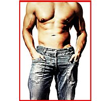 Great Male Body Photographic Print