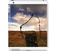 Ominous Prairie Skies iPad Case/Skin