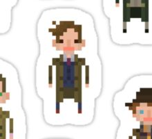 Pixel Doctor Who - Set of 13 Sticker