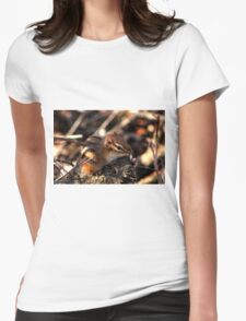 Baby Chipmunk Womens Fitted T-Shirt