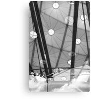Architectural clouds Canvas Print