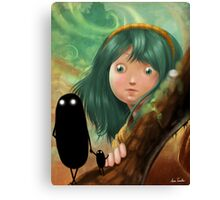 monsters in my mind Canvas Print