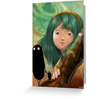 monsters in my mind Greeting Card