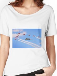 Final Vulcan Flight with The Red Arrows -  9 Women's Relaxed Fit T-Shirt
