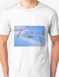 Final Vulcan Flight with The Red Arrows -  9 T-Shirt