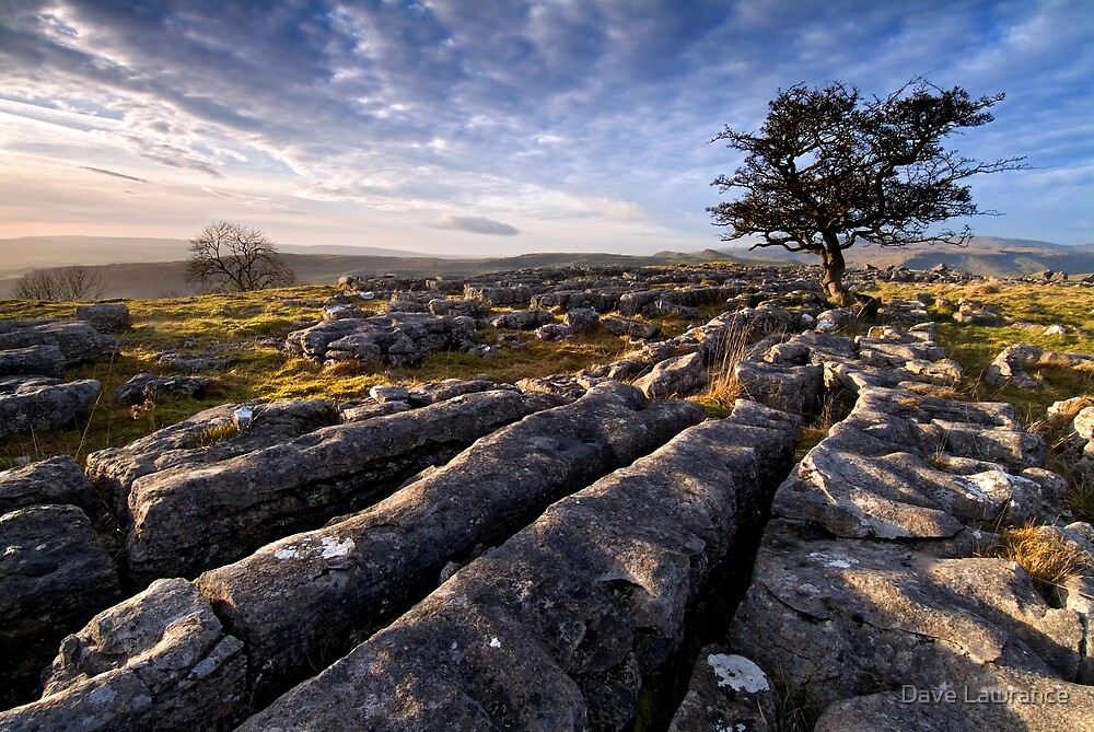 Limestone Country, Ribblesdale - The Yorkshire Dales by Dave Lawrance