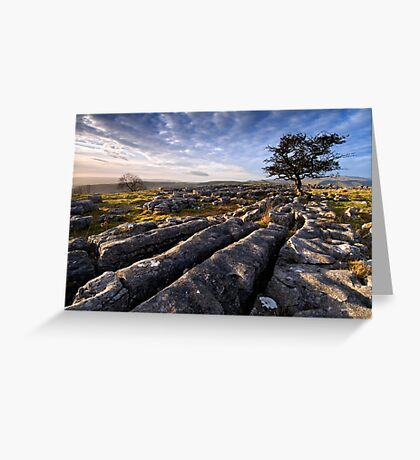 Limestone Country, Ribblesdale - The Yorkshire Dales Greeting Card