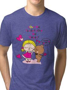 cute friends Tri-blend T-Shirt
