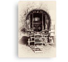 Romany Caravan Canvas Print
