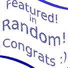 Feature banner for Random.. by gbepsal