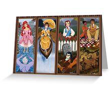Phantom Manor Stretch Portraits Greeting Card