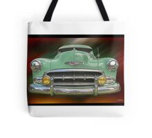 Child of the 50's - 1952 Chevrolet Deluxe Tote Bag