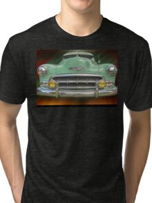 Child of the 50's - 1952 Chevrolet Deluxe Tri-blend T-Shirt