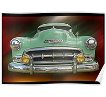 Child of the 50's - 1952 Chevrolet Deluxe Poster