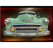 Child of the 50's - 1952 Chevrolet Deluxe Photographic Print