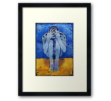 One Century and Nine Seconds Framed Print