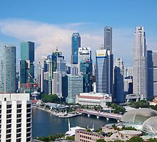 Singapore Cityscapes by hariskalin