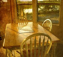 Beach Cottage Morning by Tibby Steedly
