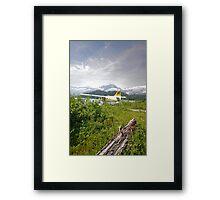 Remote Landing Framed Print