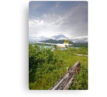 Remote Landing Canvas Print