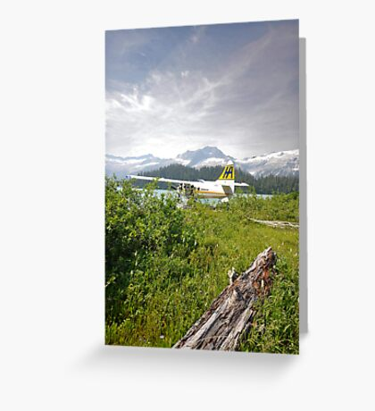 Remote Landing Greeting Card