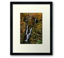 Stock Ghyll Force - The Lake District Framed Print