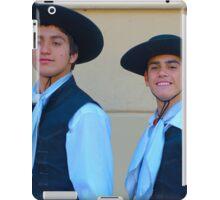 Traditional Argentinian gaucho clothing iPad Case/Skin