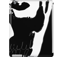 Rick Genest - White on Black iPad Case/Skin