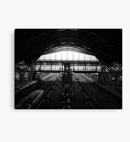 Southern Cross Station Pod Canvas Print