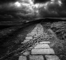 Road to Mam Tor by Rory Garforth