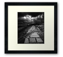 Road to Mam Tor Framed Print