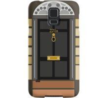 221b Baker Street (Door) Samsung Galaxy Case/Skin
