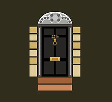 221b Baker Street (Door) by albdesigns