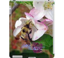 bumble bee in bliss iPad Case/Skin