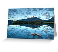 Lake Dillon at sunrise - Frisco, Summit County, Colorado Greeting Card