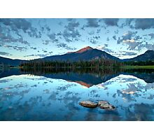 Lake Dillon at sunrise - Frisco, Summit County, Colorado Photographic Print