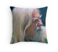 Peter Ind - Portrait Throw Pillow