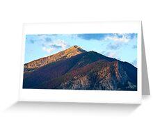 Mountain, Summit County, Colorado Greeting Card