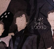Sherlock Group Design Sticker