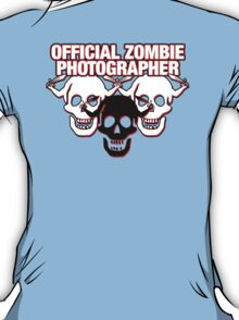 Official Zombie Photographer v2 T-Shirt