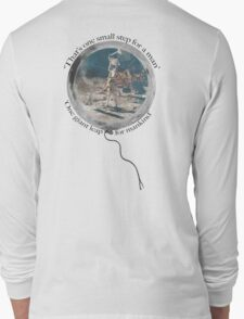 Neil Armstrong, Moon Walking Long Sleeve T-Shirt