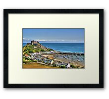 """Views over Gorey Bay, Jersey"" Framed Print"