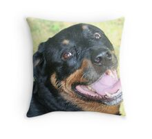 Missing Grace Throw Pillow